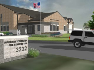 SMP design + Turner Construction design-build team awarded new fire station in Madison Township, Ohio